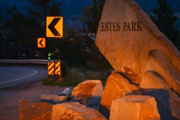 Estes Park City Entrance