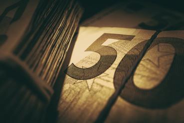 Euro Banknotes Cash Money Concept