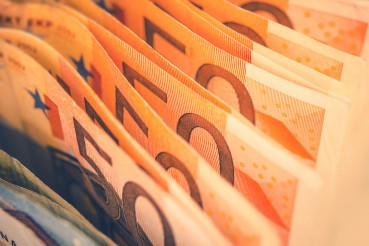 Euro Bills Banking Theme