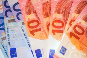 Euro Bills European Currency