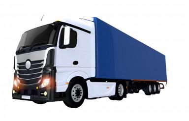 Euro Semi Trailer Truck