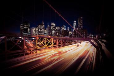 Evening Traffic in New York