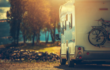 Fall RV Camper Camping