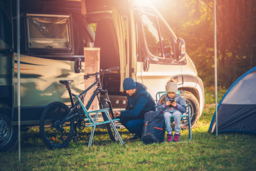 Family Vacation with Motorhome