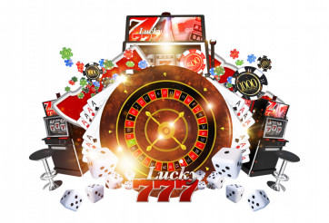 Famous Casino Games Concept