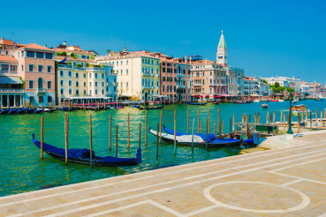 Famous Grand Canal Venice