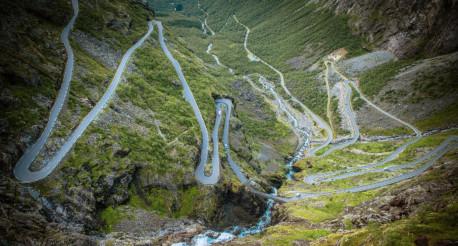 Famous Trollstigen Route