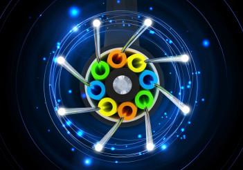 Fiber Optical Link 3D Concept