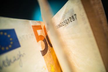 Fifty Euros Banknotes