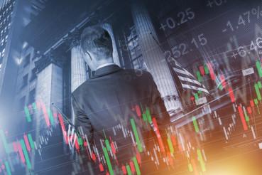 Financial Trader Concept