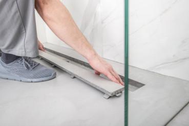 Finishing Linear Shower Drain