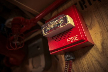 Fire Alarm with Strobe