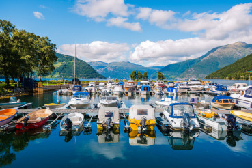 Fjord Marina in Norway