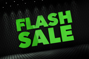 Flash Sale 3D Concept