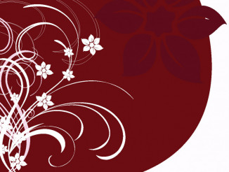 Floral Composition Vector Art