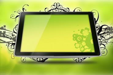Floral Tablet