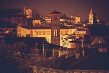 Florence Night Scenery