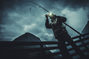 Fly Fishing at Night