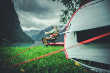 Fly Fishing Camping Time