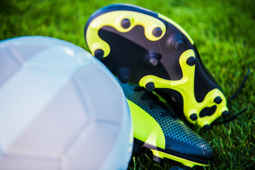 Football Ball and Shoes