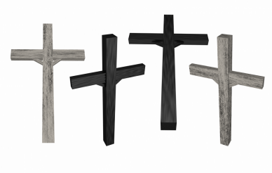 Four Crucifixes