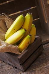Fresh Bananas in Crate