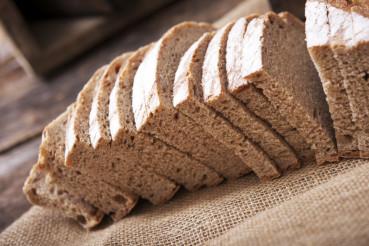 Freshly Slided Rye Bread