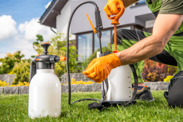 Fungicide and Insecticide Garden Equipment Preparation