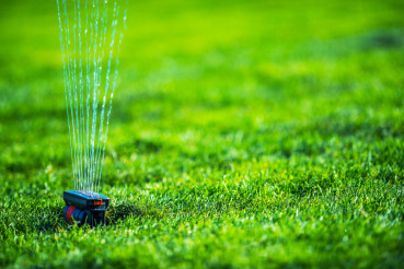 Garden Grass Field Sprinkler