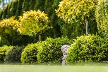 Garden Gypsum Figure