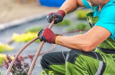 Garden Irrigation System Assembly