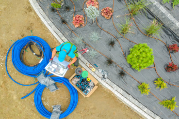 Garden Irrigation System Job