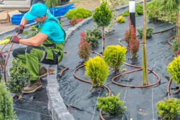Garden Irrigation Work