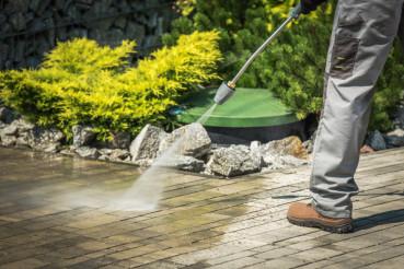 Garden Pressure Cleaning