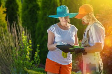 Gardener Taking Orders