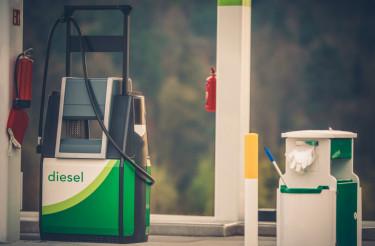 Gas Station Fuel Distributor