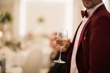 Gentleman with Glass of Wine