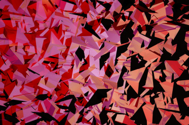 Geometric Triangles Backdrop