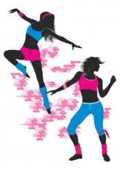 Girls Dance Vector