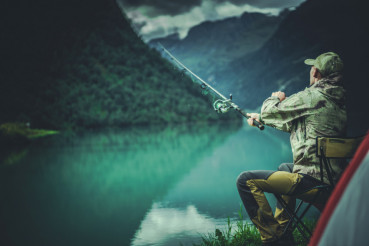 Glacial Lake Fly Fishing