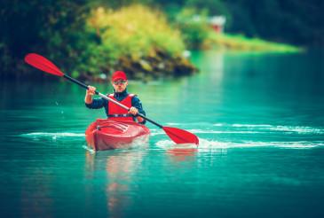 Glacial Lake Kayak Trip