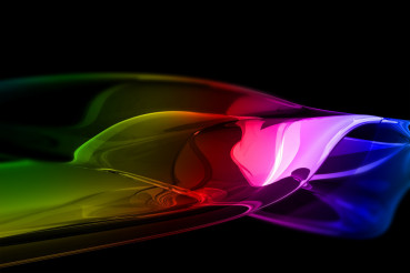Glassy Colorful Abstract