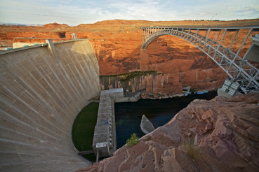 Glen Canyon Dam and Bridge
