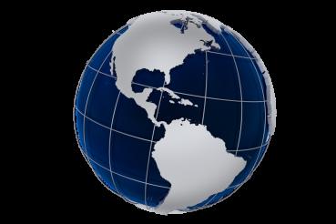 Globe Model PNG
