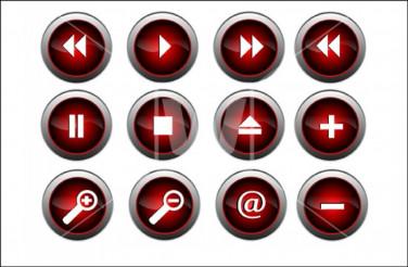 Gloss Vector Buttons