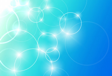 Glow Abstract Circles Background