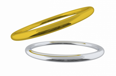 Golden and Silver Rings