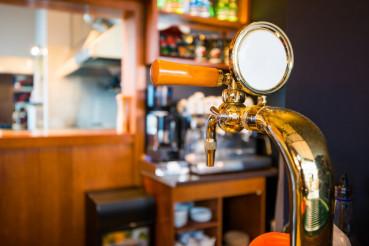 Golden Bar Beer Tap