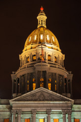 Golden Colorado Capitol