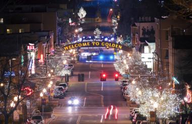 Golden Colorado Main Street
